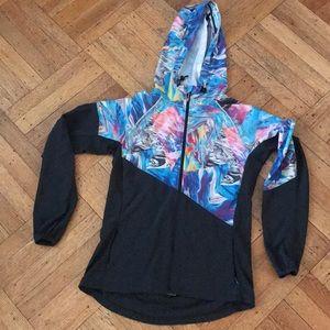 Sweaty Betty zipped up lightweight hoodie